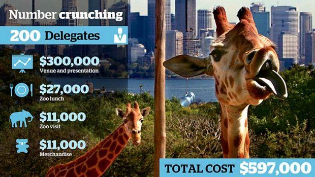 The tax talk cost.