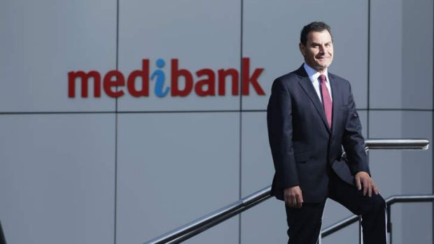 Medibank Private Managing Director George Savvides. A shaky market could jeopardise the company's float on Monday.