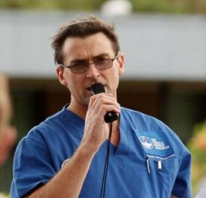 Brett Holmes, general secretary of the Nurses and Midwives Association.