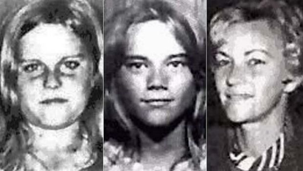 MYSTERY: Barbara McCulkin (right) and her daughters Vicky (left) and Leanne (centre) disappeared from their home on ...