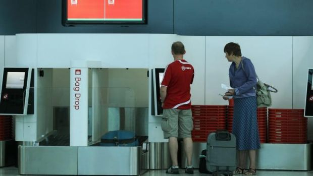 The fall in international passengers was largely due to a 2.5 per cent drop in Australians travelling overseas, deterred ...