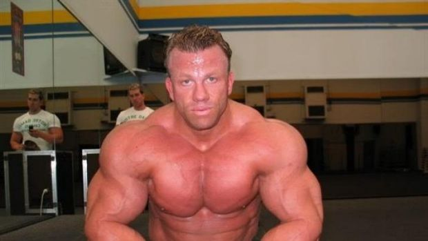 Champion Australian bodybuilder Luke Wood, whose death is being examined in the NSW Coroner's Court this week.