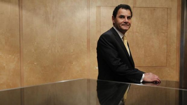 Sitting pretty: Medibank CEO George Savvides will get a $750,000 bonus for successfully completing the company's IPO.