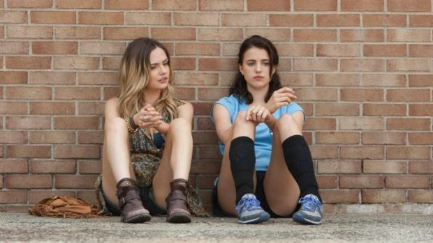 Slightly brainy: Emily Meade and Margaret Qualley in The Leftovers, which might be a good series.