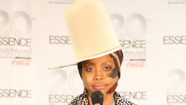 Odds are on Erykah Badu's fashion forward, felt fedora accompanying her to the spring racing carnival despite it being ...