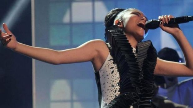 Marlisa Punzalan's show-stopping <i>Titanium</i>, which won over <i>The X Factor</i> and made her the youngest ever winner.