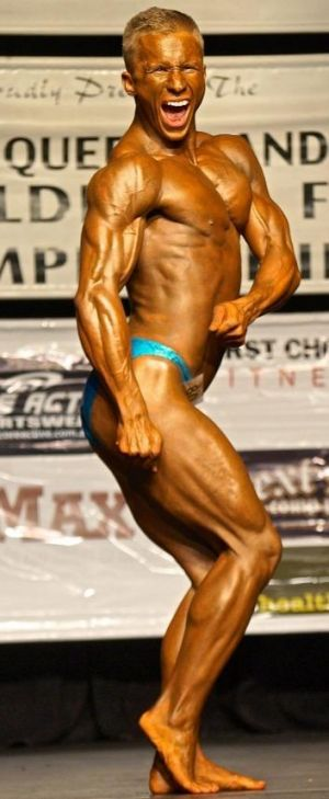 Ben Reddich had recently become involved in amateur bodybuilding.