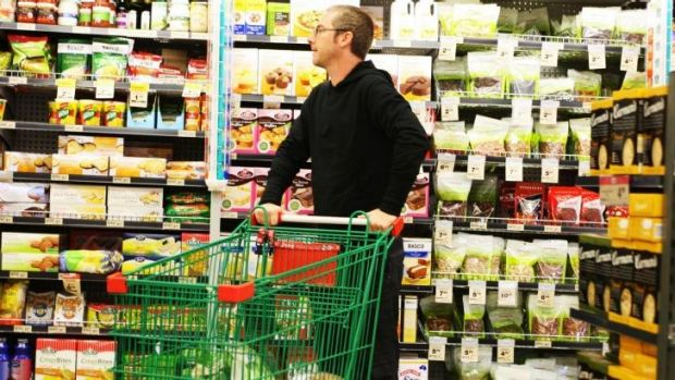 Rising prices at the supermarket checkout: The weaker Aussie dollar has increased the cost of imported fruit and other ...