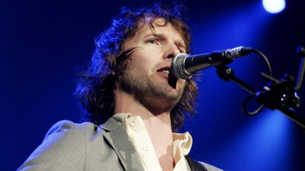 Blunt critique: British singer James Blunt admits his hit was annoying.