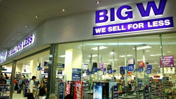 While Big W has suffered from increased competition from the like of Kmart, Woolworths says it has no intention of ...