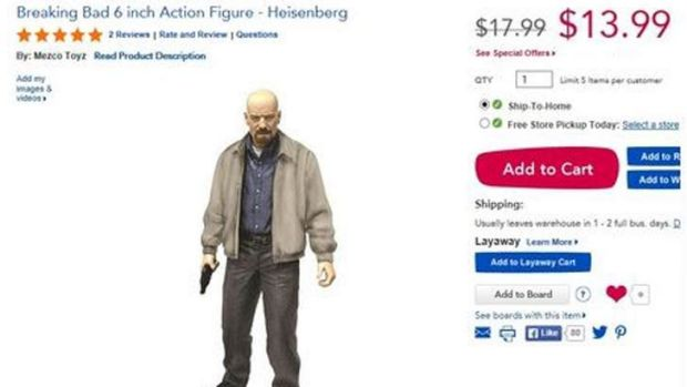 Walter White figure.