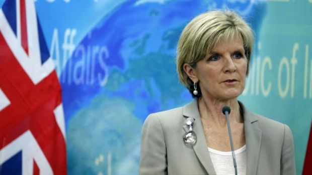 Australian Foreign Minister Julie Bishop is being talked up as a future leader of the Liberal Party.