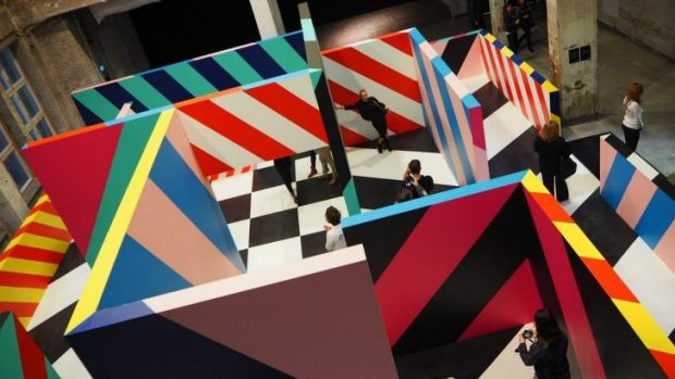 "One of Maser's previous ""playgrounds"": the artist says Sydney will be his biggest."