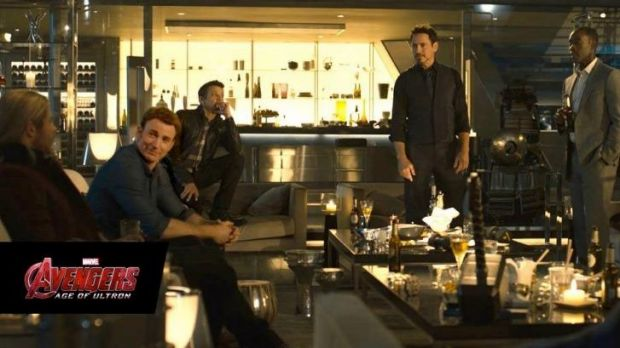 The old gang: <i>The Avengers: Age of Ultron</i>.
