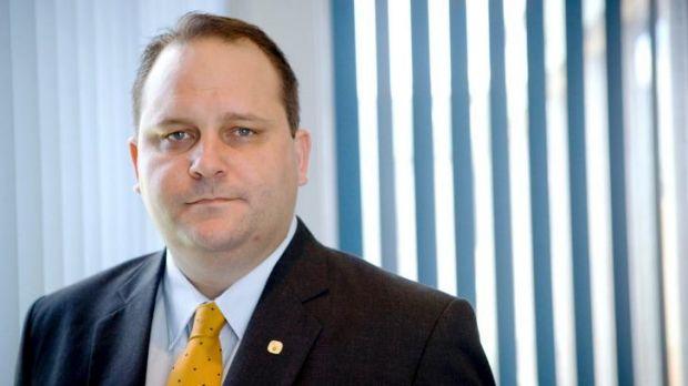 Former Queensland MP Scott Driscoll.