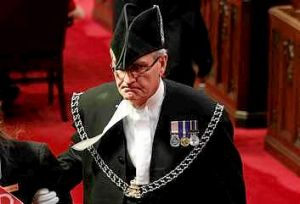 Sergeant-at-Arms Kevin Vickers has been hailed as a hero.