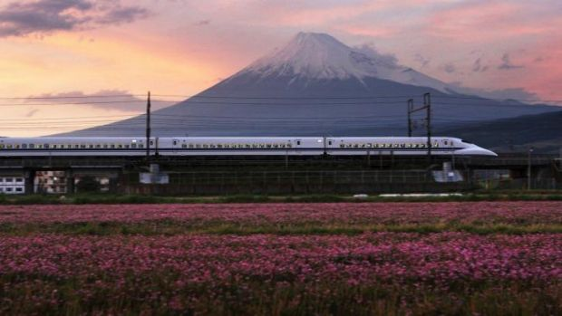 Living the dream: Japan has had high speed rail longer than Australia has been talking about it.