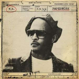 The cover of T.I.'s new album <i>Paperwork</i>.