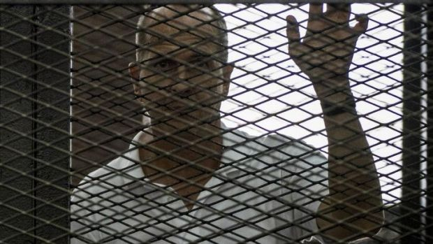 Jailed Australian journalist Peter Greste.