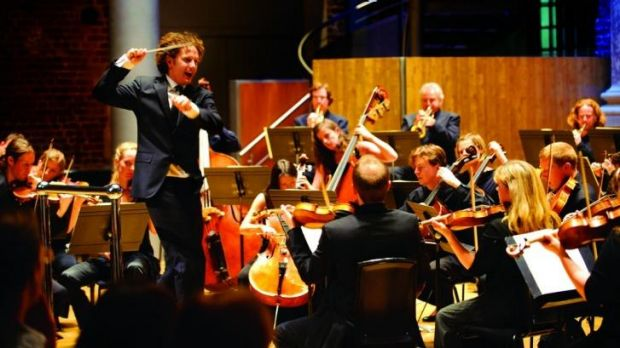 The Aurora Orchestra impressed in collaboration with the Australian National Academy of Music.