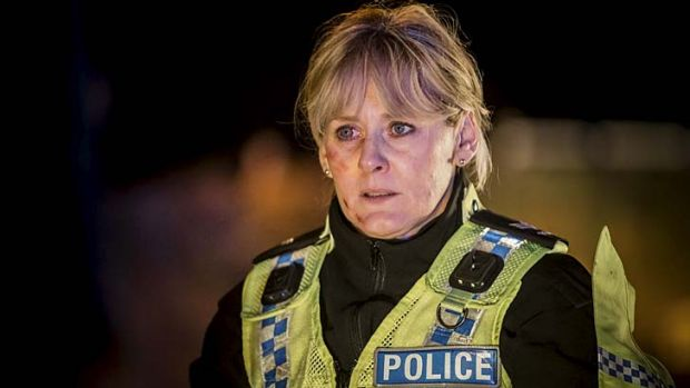 Top drawer: Sarah Lancashire in <i>Happy Valley</i>.