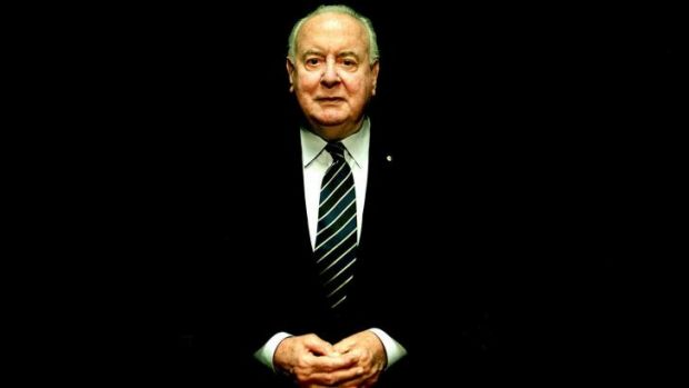 Huge public outpouring of affection: Former prime minister Gough Whitlam.