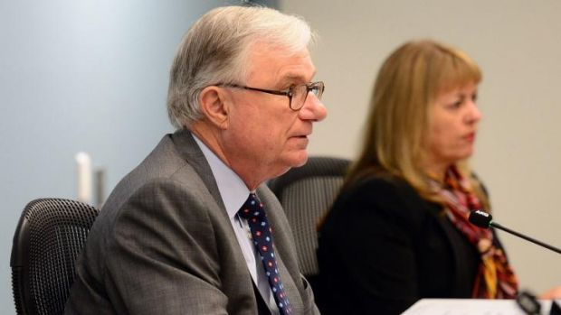 Commissioner seeks to guarantee compensation: Justice Peter McClellan.