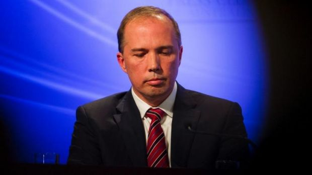 Health Minister Peter Dutton says the government has yet to make a decision on sending Australian health workers to West ...