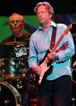 Baker hasn't spoken to Clapton yet about attending the funeral.