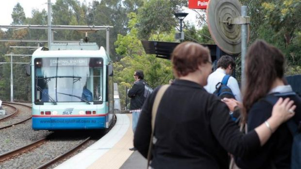 Around the corner? Light rail is planned for western Sydney.