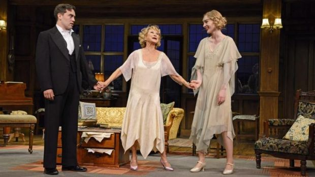 """Felicity Kendal plays the over-dramatic former West End actress Judith Bliss in Noel Coward's """"Hay Fever"""", her first ..."""