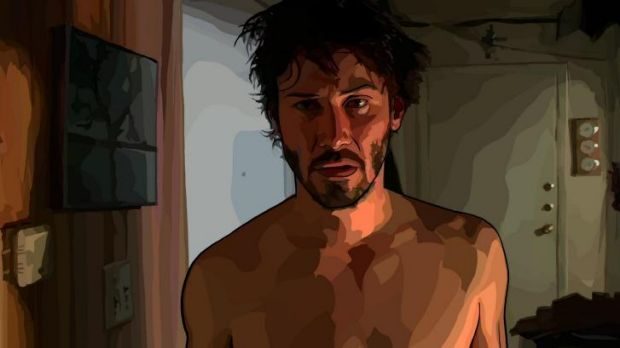 Digging deeper: Keanu Reeves in Richard Linklater's <i>A Scanner Darkly</i>.