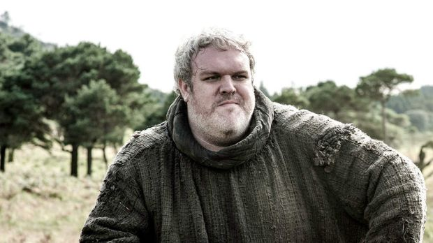 Undeterred ... <i>Game of Thrones</i>' Hodor played by Kristian Nairn.
