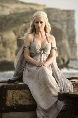 Daenerys Targaryen continues her rule in Mereen in the <i>Game of Thrones</i>.