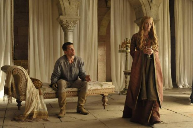 Twincest ... <i>Game of Thrones</i>' Jaime and Cersei Lannister.