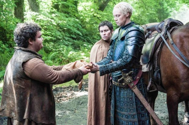 More lies in store for <i>Game of Thrones</i>' Brienne and Podrick.