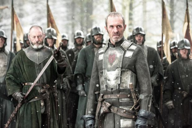Last we saw ... Stannis Baratheon was at The Wall plotting his move to become king.