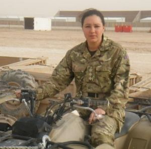 """""""Breathless bravery"""": British Army bomb-disposal specialist Captain Lisa Head was killed in 2011."""