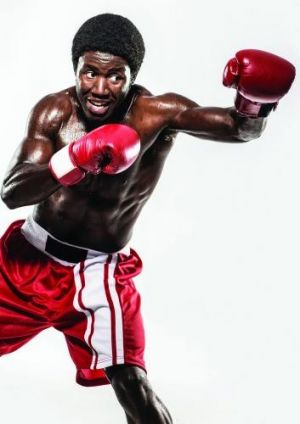 Pacharo Mzembe plays a Brisbane boxer facing up to his past as a child soldier in war-torn Africa.