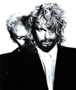 Revolutionary figure: Annie Lennox (pictured with Dave Stewart) had an ability to be both coolly detached and intensely ...