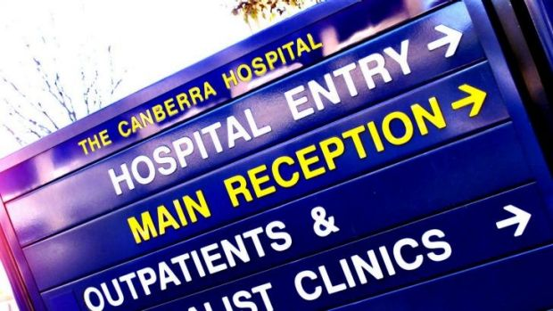 Safe levels: ACT Health denies Canberra Hospital is operating beyond a safe level of occupancy.
