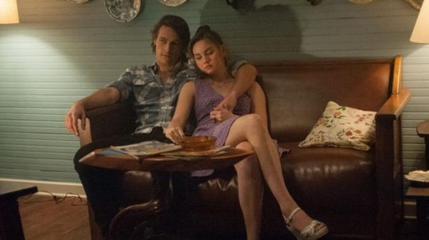 Luke Bracey and Liana Liberato play the younger incarnations of the star-crossed lovers.