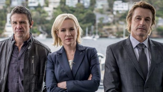 Rebecca Gibney will star in <i>Winter</i> with Matt Nable and Peter O'Brien.