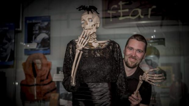 Helping hand: The Community Outreach Coordinator for the National Museum of Australia Luke Cummins. The Museum is ...