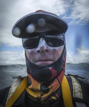Adventurer of the year Jason Beachcroft.