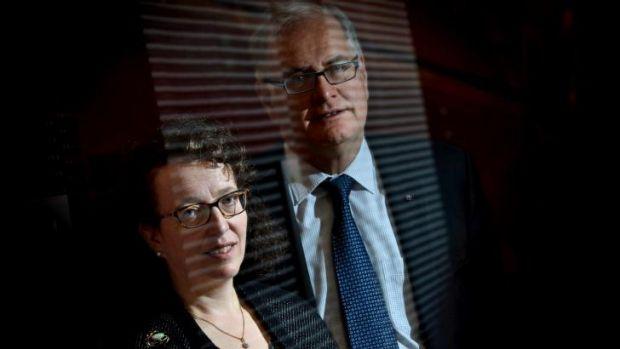 Unmasking the role of genetics: Ingrid Scheffer and Sam Berkovic.