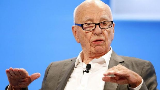 Rupert Murdoch at the WSJD Live conference in California.