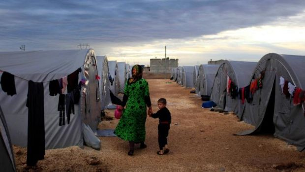 Humanitarian issue: Refugees could be processed overseas by Australian officials.