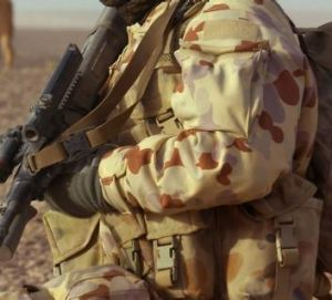 Lower allowances: The cut to Australian troops' pay is likely to be controversial.