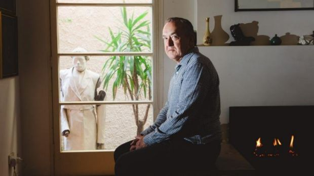 Brave: Peter McEwan, who had a conviction recorded under old gay sex laws.
